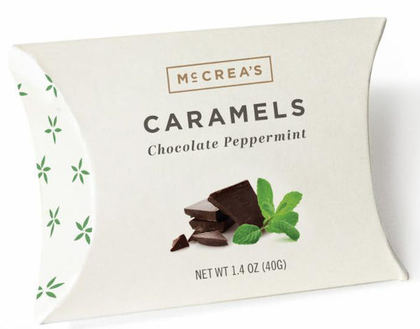 Chocolate Peppermint Caramels