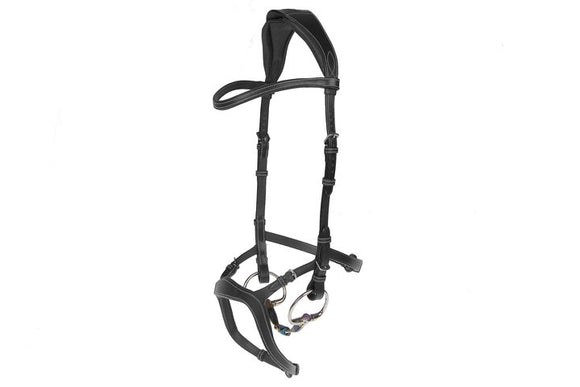PS of Sweden Nirak Bridle in Black/3 (Full Size)