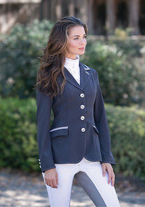 Goode Rider Iconic Competition Coat - Smoke - ON SALE!