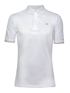 Shockemohle Mitchell Men's Show Shirt in White