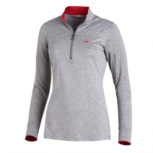 Shockemohle Page Long Sleeve Functional Shirt in Grey