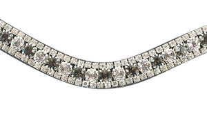 PS of Sweden Crystal Silver Night Browband