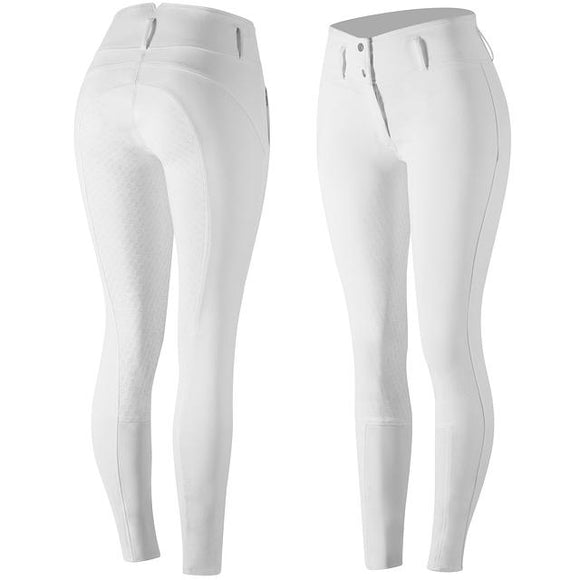 Horze Daniela Full Seat Breeches in White