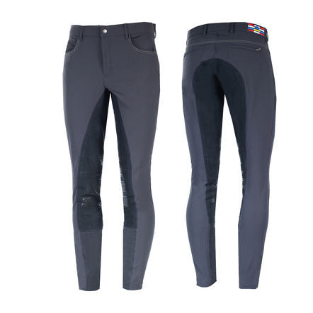 Horze Jackson Men's Full Seat Breeches in Navy