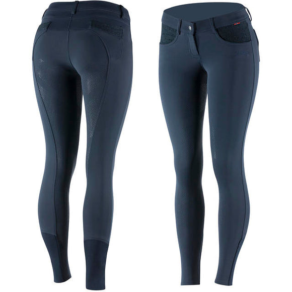 B Vertigo Chloe Full Seat Breeches in Navy