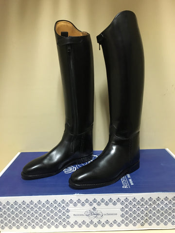 Konig Grandgester + Zippers Dressage Boot US 10.5 (38cm calf 46/52cm height)