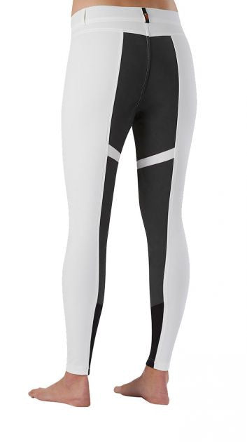 Kerrits Cross Over Fullseat Breeches in White/Black