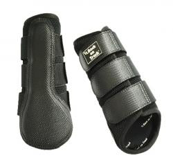 Back On Track Splint Boots in Black & White