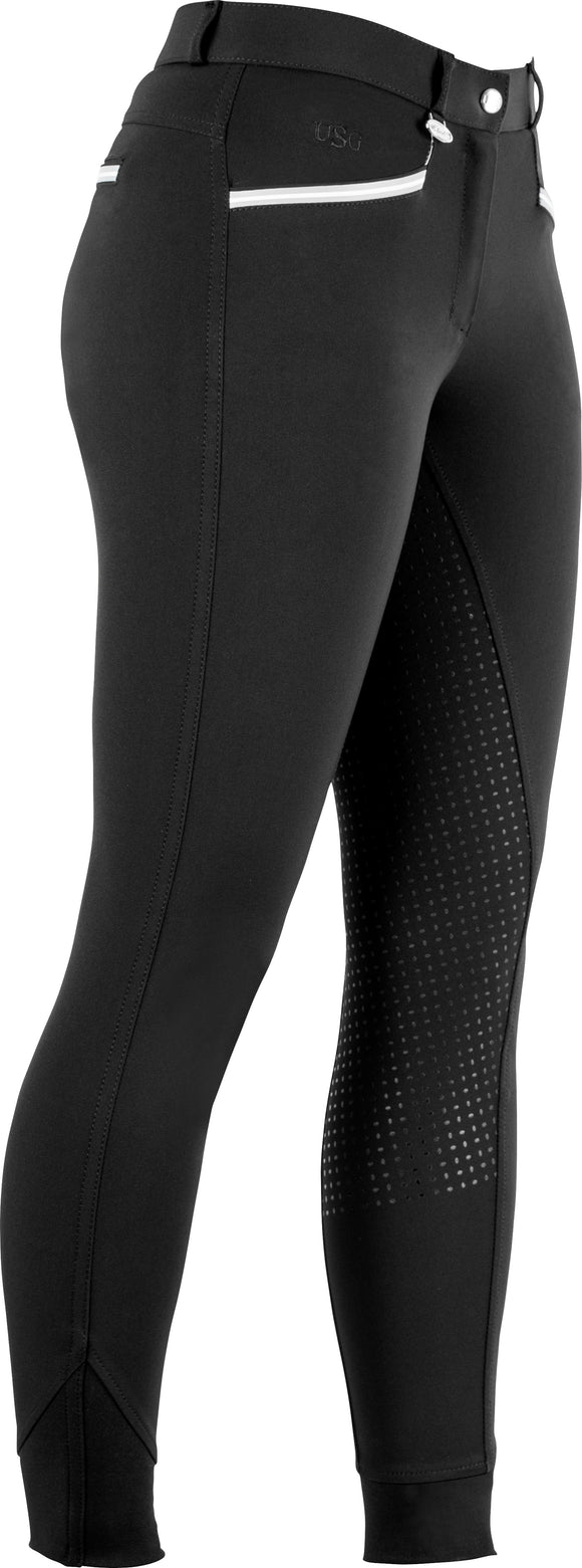 USG Ava Full Seat Breeches in Black