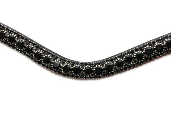 PS of Sweden Black Delight Browband