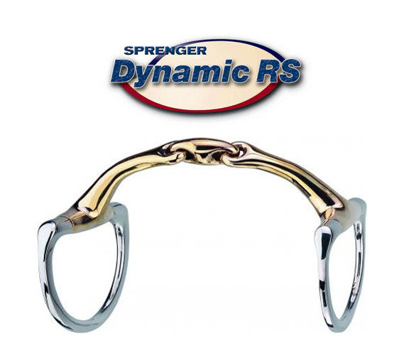 Herm Sprenger Dynamic RS Eggbutt Bradoon 14mm