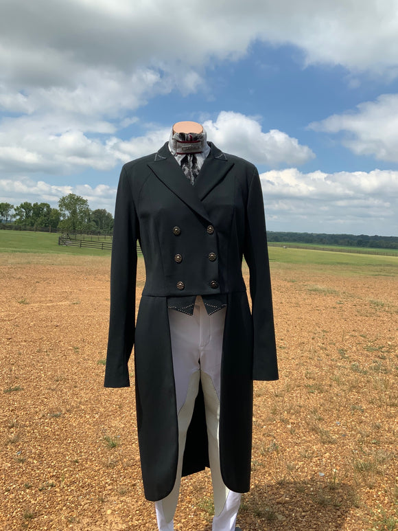 Animo Loney Custom Tailcoat in Black IT 48