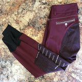 Animo Nesci Full Seat Breeches in Amaranto/Maroon