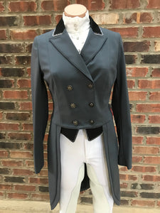Animo Lageo Custom Tailcoat in Grey IT 42
