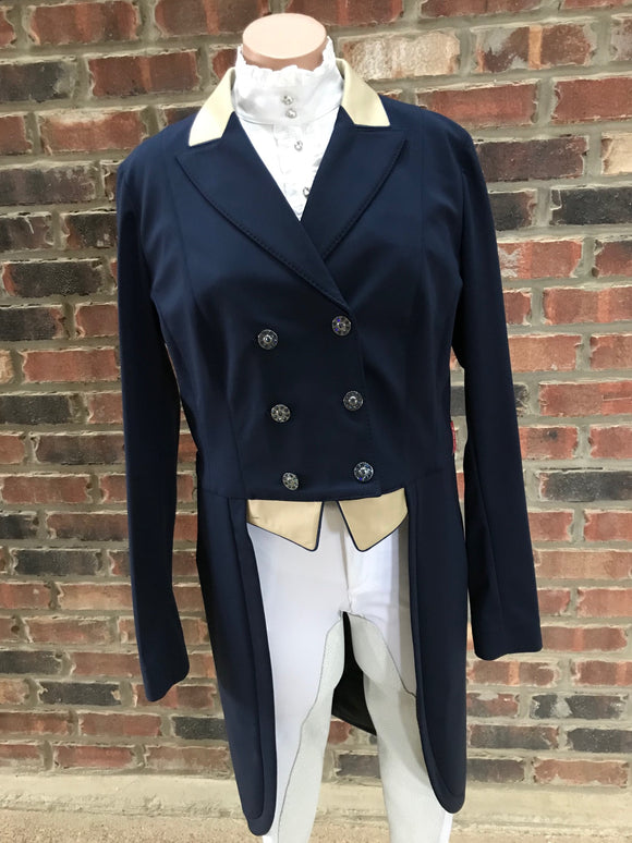 Animo Lageo Custom Tailcoat in Navy IT 48