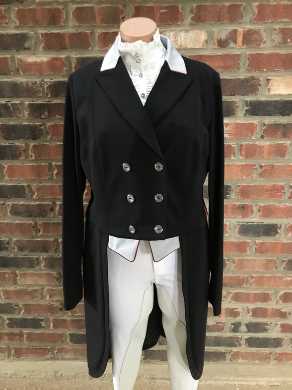 Animo Lageo Custom Tailcoat in Black IT 50
