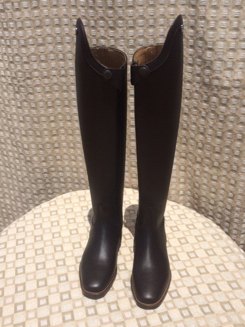 Cavallo Insignis Dressage Boot Mocha Top Hats And