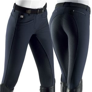 Equiline Cedar Full Seat X-Grip Breeches in Black