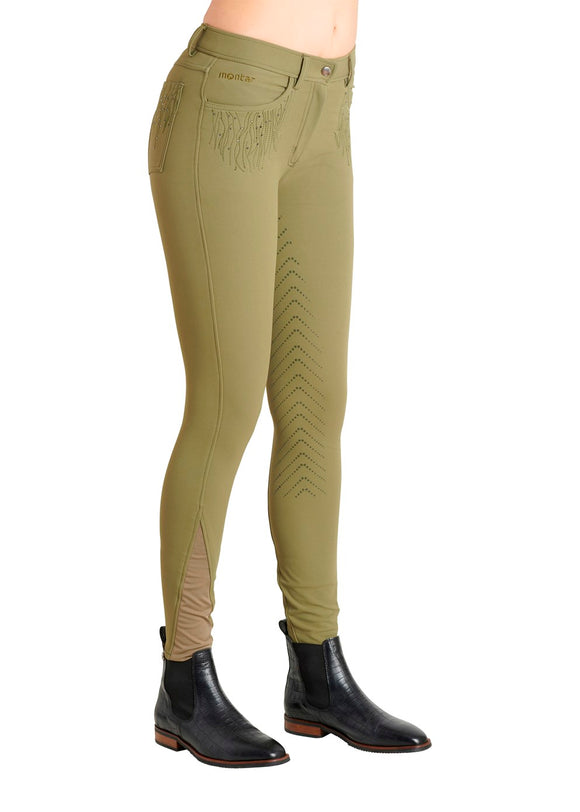Montar Layla F/S Breech - Light Army