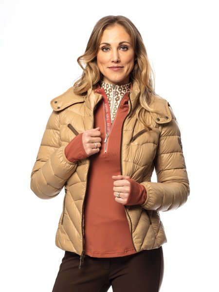 Goode Rider Out and About Jacket - Camel