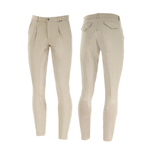 B Vertigo Sander Men's Full Seat Breeches in Beige