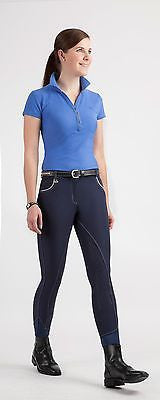USG Lara Full Seat Breeches in Navy, Black, or White