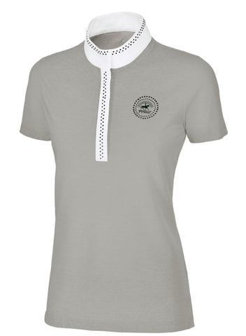 Pikeur Competition Shirt in Grey Sparkle