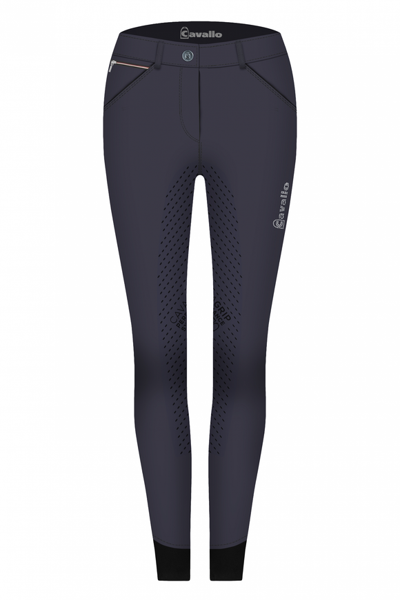 Cavallo Calima Grip Full Seat Breeches in Navy