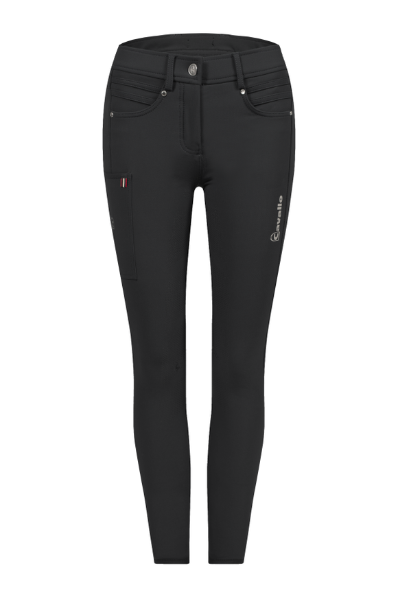 Cavallo Carole Grip S Full Seat Breeches in Black