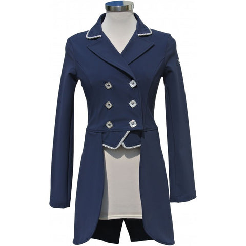 For Horses Sherry Tailcoat in Navy