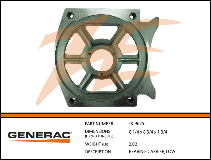 0C9675 Bearing Carrier
