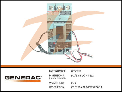 generac parts page 74 ziller electric generac 0d5576b 250a 600v circuit breaker 3 phase