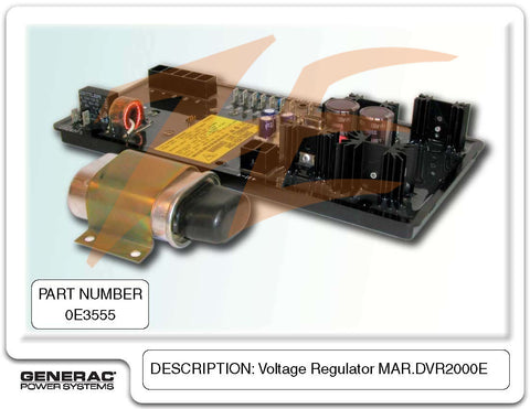 Generac 0E3555 Voltage Regulator DVR2000E
