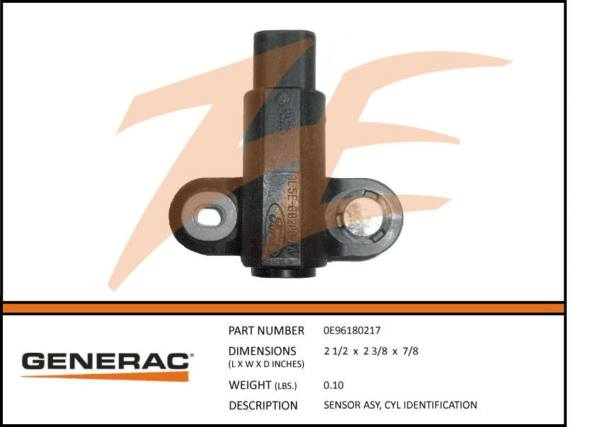 Generac 0E96180217 Cylinder Identification Sensor Assembly