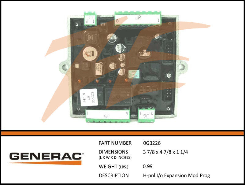 Generac 0G3226 H-Panel I/O Expansion Module