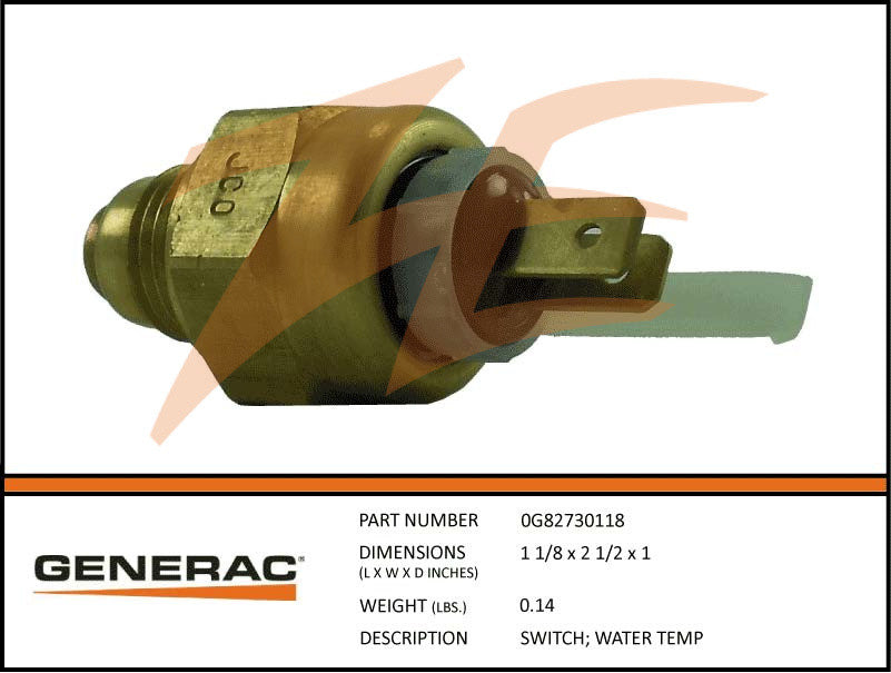 Generac 0G82730118 Water Temperature Switch