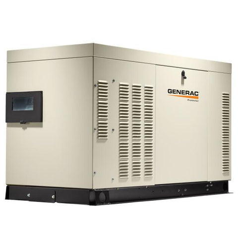 Generac Protector RG06024 60kW Steel Liquid Cooled Automatic Standby Generator
