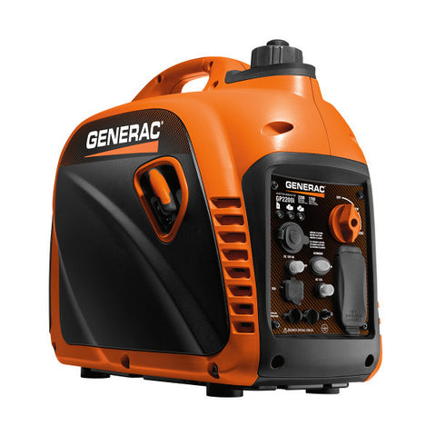 Generac 7117 GP2200i - 2200 Watt Portable Inverter Generator, CSA/CARB