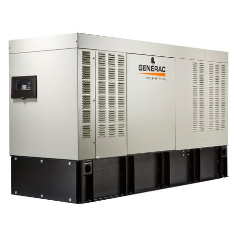 Generac RD05034 Protector 50kw Diesel Automatic Standby Generator. Three phase only. 1800RPM.