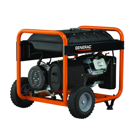 Generac 5941 GP6500E 6500 Watt Electric Start Portable Gasoline Generator