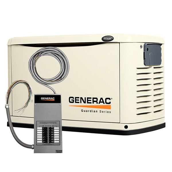 Generac 6437 11kw Steel Automatic Standby Generator With