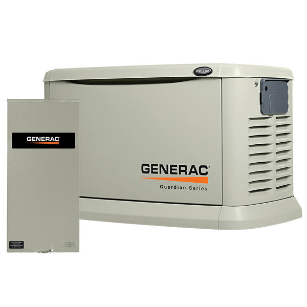 Generac 6551 22kW Aluminum Automatic Standby Generator with 200A Transfer Switch