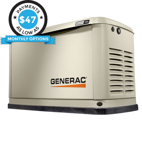 Generac Guardian 70291 9kW Aluminum Automatic Standby Generator with WiFi