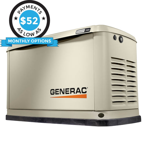 Generac Guardian 70311 11kW Aluminum Automatic Standby Generator with WiFi