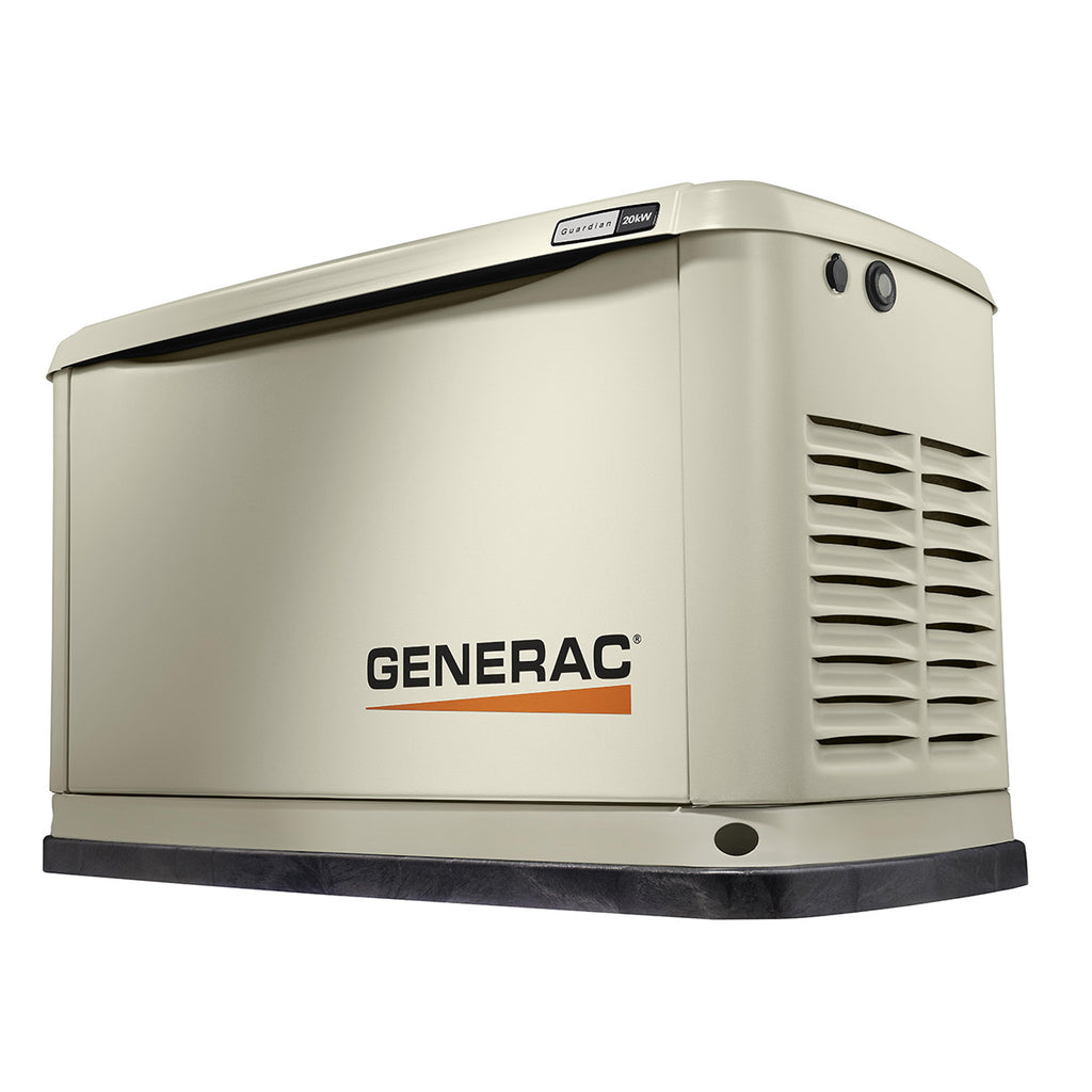Generac Guardian 70381 20kW Aluminum Automatic Standby Generator with WiFi