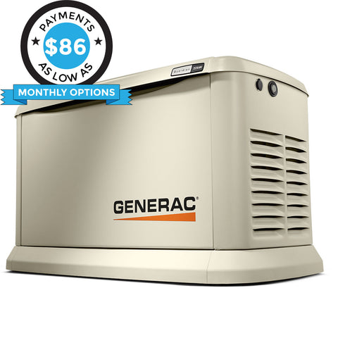Generac Guardian 70422 22kW Aluminum Automatic Standby Generator with WiFi