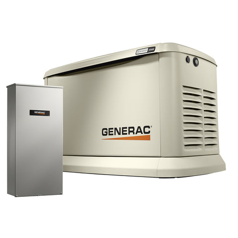 Generac Guardian 7043 22kW Aluminum Automatic Standby Generator with 200A SE Rated Transfer Switch