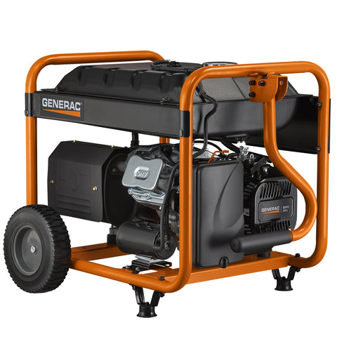 Generac 6954 GP8000E 8000 Watt Electric Start Portable Gasoline Generator