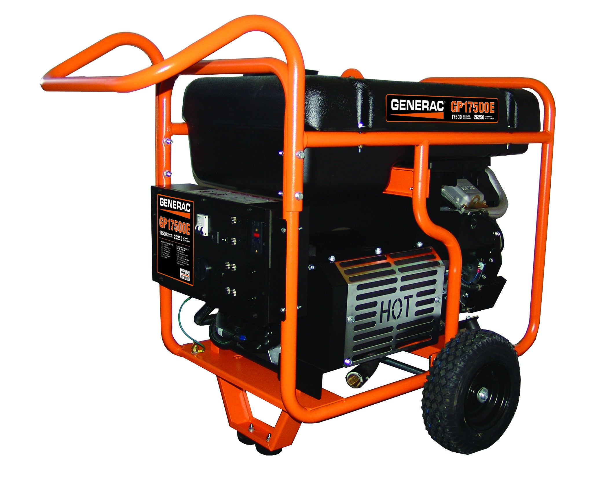 Generac 5735 GP E 17 500 Watt Electric Start Portable Gasoline