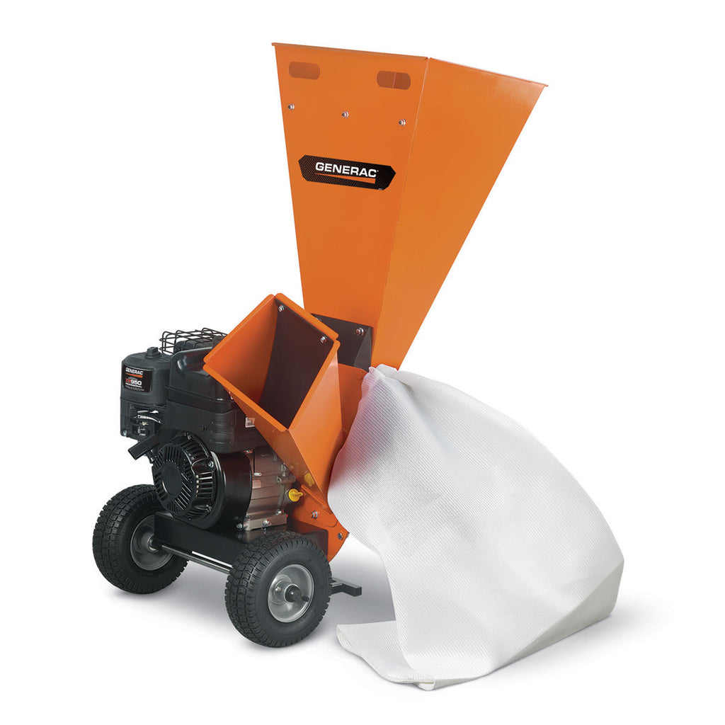 "Generac 3"" Gas Powered Chipper Shredder"